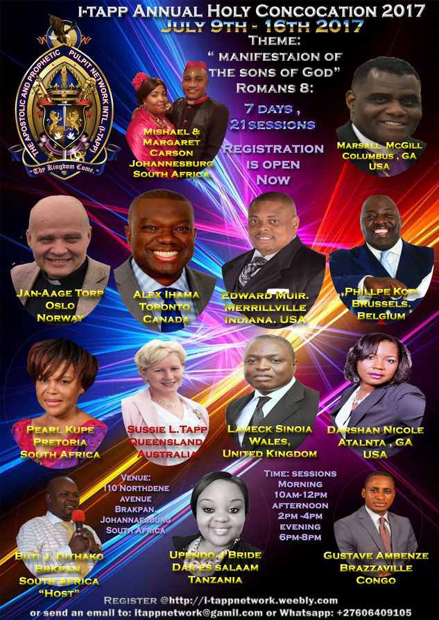 Holy Convocation in Johannesburg